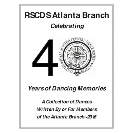 Atlanta Branch 40th Anniversary Dance Book