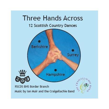 Three Hands Across CD